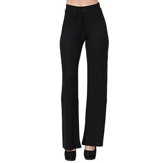 JED Women's Drawstring Wide Leg Casual Pants