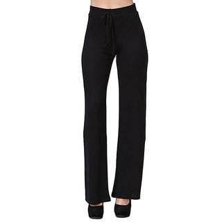 JED Women's Drawstring Wide Leg Casual Pants