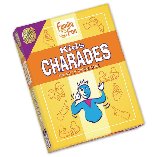 Cheatwell Games Kids Charades Game