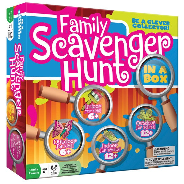 Outset Family Scavenger Hunt In A Box