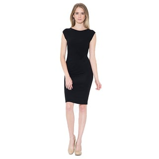 Jed Women's Casual Bodycon Soft Stretchy Solid Dress