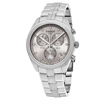 Tissot Men's T101.417.11.071.00 'PR 100' Grey Dial Stainless Steel Chronograph Swiss Quartz Watch