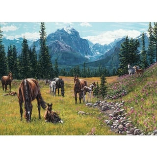 Cobble Hill: Horse Meadow 1000 Piece Jigsaw Puzzle