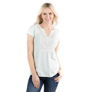 DownEast Basics Women's Sea Front Top