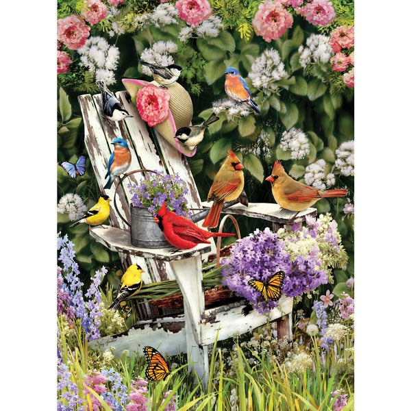 Cobble HIll: Summer Adirondack Birds 1000 Piece Jigsaw Puzzle
