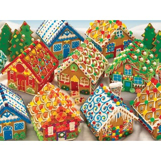 Cobble Hill: Ginderbread Houses 1000 Piece Jigsaw Puzzle