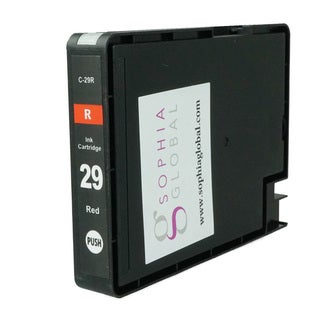 Sophia Global Compatible Ink Cartridge Replacement for PGI-29 (1 Red)