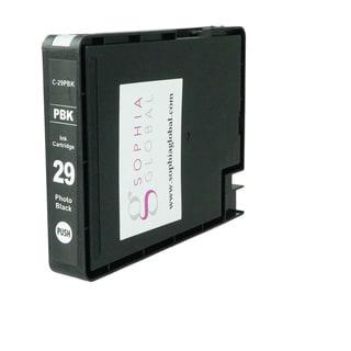 Sophia Global Compatible Ink Cartridge Replacement for PGI-29 (1 Photo Black)