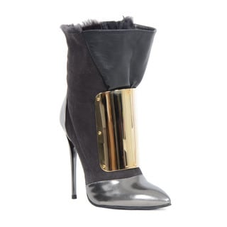 Giuseppe Zanotti Grey Bootie (As Is Item)