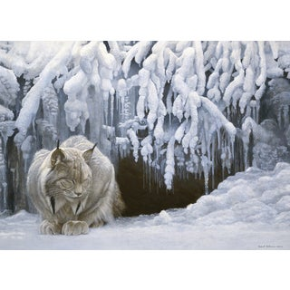Cobble Hill: Dozing Lynx 1000 Piece Jigsaw Puzzle