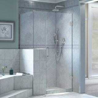 DreamLine Unidoor Plus 35 in. W x 36.375 in. D x 72 in. H Hinged Shower Enclosure