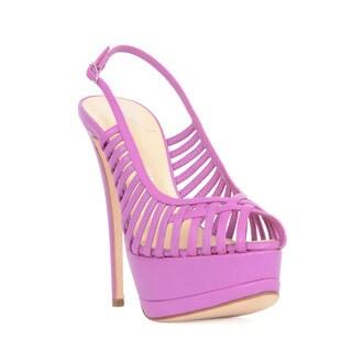 Giuseppe Zanotti Strappy Pink Heel Sandal