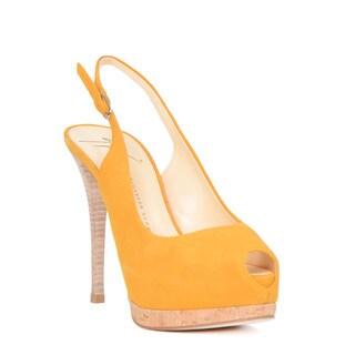 Giuseppe Zanotti Yellow Heel Sandal