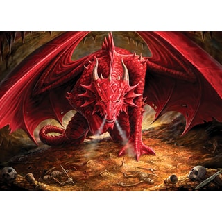 Cobble Hill: Dragons Liar 1000 Piece Jigsaw Puzzle