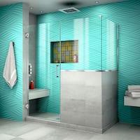 DreamLine Unidoor Plus 54 in. W x 36.375 in. D x 72 in. H Hinged Shower Enclosure