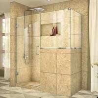 DreamLine Unidoor Plus 58 in. W x 40.375 in. D x 72 in. H Hinged Shower Enclosure