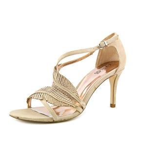 Carlos Santana Women's 'Frisco' Tan fabric Sandals