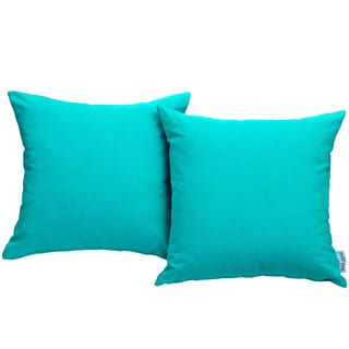 Gather Outdoor Patio Sunbrella Throw Pillow (Set of 2)