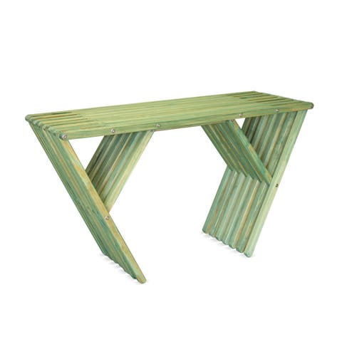 Eco Friendly Wood Console or side or Sideboard Table X90 by GloDea