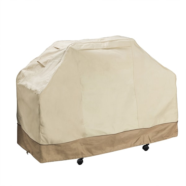 Shop Villacera Beige Large Grill Cover Free Shipping On