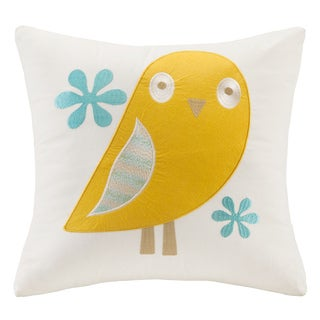 Ink+Ivy Kids Agatha 16x16 Cotton Square Throw Pillow