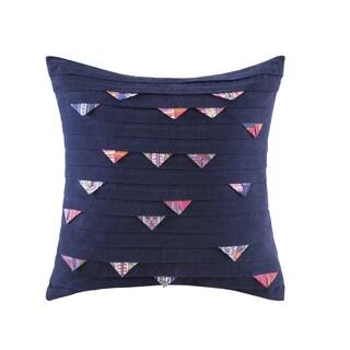 Josie by Natori Katina Cotton Square Throw Pillow