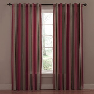Waverly Eastern Myth Radish Red Curtain Panel (Set of 2)