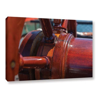 Scott Campbell 'At The Helm' Gallery Wrapped Canvas