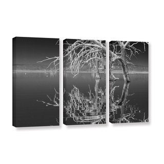 Scott Campbell 'Dead Arch Black and White' 3-piece Gallery Wrapped Canvas Set