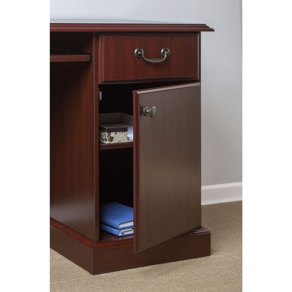 Kathy Ireland Office Bennington Manager S Desk Credenza With