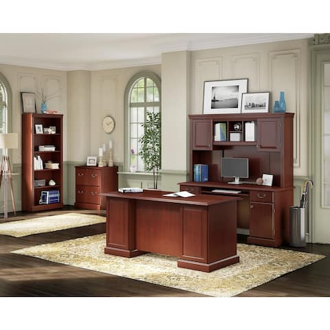 Bennington Executive Office Suite from kathy ireland Home by Bush Furniture
