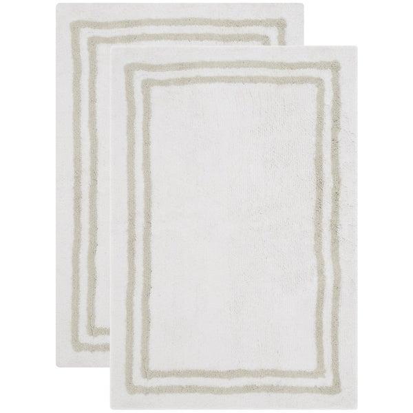 Safavieh Handmade Plush Master Bath Sage Green Cotton Rug (2' x 3')