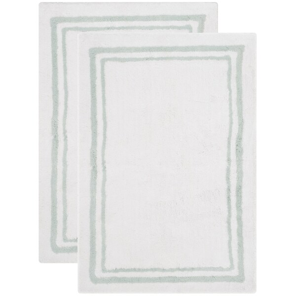 Safavieh Handmade Plush Master Bath Spa Cotton Rug (2' x 3')