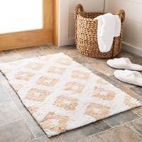 Safavieh Handmade Plush Master Bath Winter Wheat Cotton Rug (1' 9 x 2' 10)