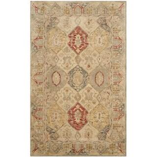 Safavieh Handmade Antiquity Beige/ Multi Wool Rug (3' x 5')