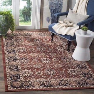 Safavieh Artisan Vintage Rust/ Navy Distressed Area Rug (3' x 5')