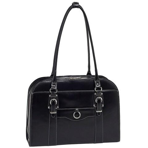 McKlein Hillside 15.6-inch Laptop Leather Shoulder Bag