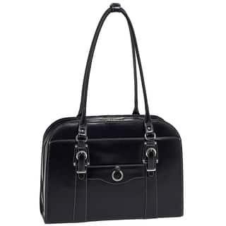 McKlein Hillside 15.6-inch Laptop Leather Shoulder Bag|https://ak1.ostkcdn.com/images/products/11704867/P18628297.jpg?impolicy=medium