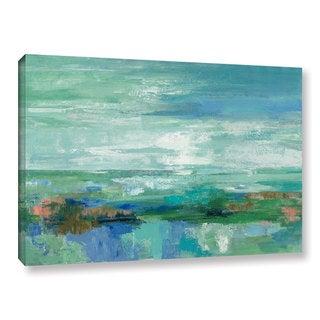 Silvia Vassileva 'Emerald Bay' Gallery Wrapped Canvas