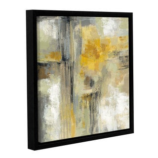 Silvia Vassileva 'Sun and Rain' Gallery Wrapped Floater-framed Canvas