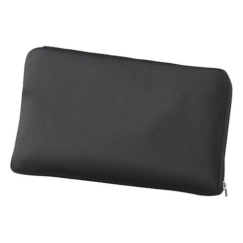 Zip Around Black Neoprene Mini Computer / Laptop Sleeve Protected Case