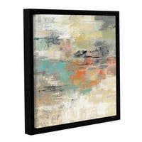 Silvia Vassileva 'Gentle Gaze ' Gallery Wrapped Floater-framed Canvas