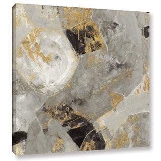 Silvia Vassileva 'Painted Desert Neutral' Gallery Wrapped Canvas