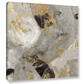 Silvia Vassileva 'Painted Desert Neutral' Gallery Wrapped Canvas - multi