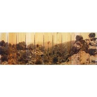 Rocky Ravine 60x20-inch Indoor/ Outdoor Full Color Cedar Wall Art