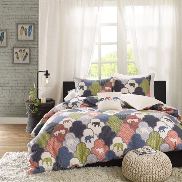 HipStyle Padma Multi Cotton Duvet Cover Set