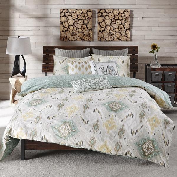 Ink Ivy Nia Seafoam Cotton Comforter Mini Set Free