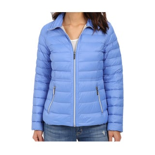 Michael Michael Kors Crew Blue Packable Jacket
