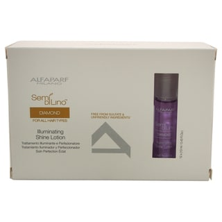 Alfaparf Semi Di Lino Diamond Illuminating Shine Lotion Kit (12 x 0.43-ounce)