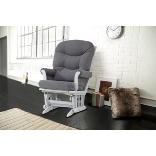 Dutailier Ultramotion Grey Sleigh Glider Chair